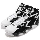 Reebok 籃球鞋 Mobius OG MU 黑 白 麂皮 皮革鞋面 運動鞋 男鞋【PUMP306】 CN7884