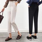 哈倫褲女 西裝哈倫褲西褲子女九分學生韓版寬鬆直筒ulzzang百搭   傑克型男館