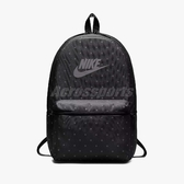 Nike 後背包 Heritage Bkpk 男女款 包包 雙肩背 書包 經典 基本款 點點 圓點 黑 【PUMP306】 BA5761-011