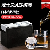 威士忌冰球模具透明無氣泡大冰塊制作器家用冰格冰盒制冰神器 韓國時尚週