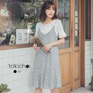 東京著衣-甜美花季兩件式洋裝-S.M(181076)