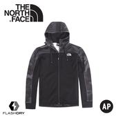 【The North Face 男 快乾保暖外套《黑迷彩》】46HV/保暖外套/連帽外套/休閒外套
