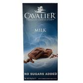 騎士無加蔗糖牛奶巧克力85g【愛買】