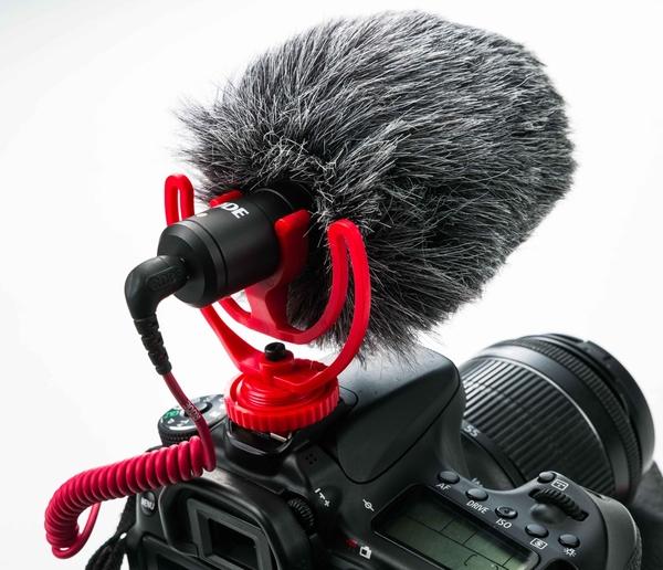 呈現攝影-Micro麥克風防風毛套 迷你版麥克風用 錄影/收音VideoMicro VM10
