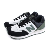 NEW BALANCE 574系列 運動鞋 復古鞋 黑白 男鞋 ML574JHU-D no665