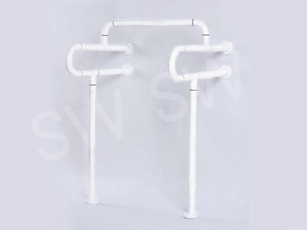 IA048 小便器安全扶手 ABS 牙白防滑 HU落地型扶手 浴室扶手 廁所扶手 浴缸扶手防滑扶手