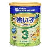 雪印金強い子3 PLUS成長營養配方900g,一箱共12罐