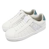 Royal elastics 休閒鞋 Icon 白 藍 灰 女鞋 懶人鞋 套入式 【ACS】 91912085