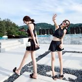 【618好康又一發】泳衣女分体三件套小胸聚拢游泳衣