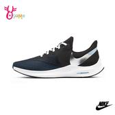 NIKE ZOOM WINFLO 6 成人男款 慢跑鞋運動鞋 P7230#黑藍◆OSOME奧森鞋業