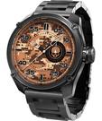 elegantsis Army 戰地迷彩龐克日期套錶-迷彩x黑/48mm ELJT47-PS07MA