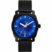 FOSSIL Machine 藍調時尚手錶-42mm FS5694
