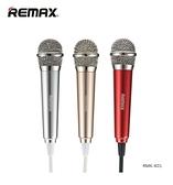 [富廉網]【Remax】迷你K歌麥克風 贈支架、海綿套 (RMK-K01)