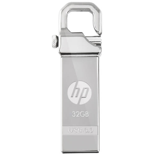HP 32G USB3.0精工掛式隨身碟X750W【愛買】