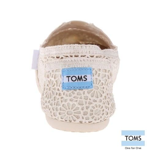 TOMS 經典蕾絲懶人鞋-女款(001096B10  NATUR)