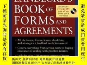 二手書博民逛書店The罕見Landlord s Book Of Forms And AgreementsY307751 Cli