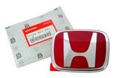 【吉特汽車百貨】HONDA 喜美 車標 貼標 競技貼標 紅色亮面 12.3x10.1cm 8代CIVIC 3代CRV
