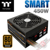 [ PC PARTY ] 曜越 Thermaltake SMART M450W 銅牌 模組化 日系電容 電源供應器 (台中、高雄)