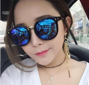新款墨鏡女潮韓版偏光太陽鏡圓臉明星款眼鏡防紫外線