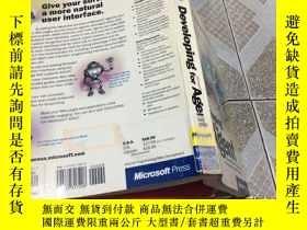 二手書博民逛書店Developing罕見for Microsoft agentY
