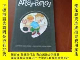 二手書博民逛書店ARTSY-FARTSY,罕見AN ALDO ZELNICK COMIC NOVEL 阿爾多·澤爾尼克的喜劇小說奇