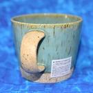 藍綠岩石模樣 手工陶瓷馬克杯 美濃燒 日本製 300ml