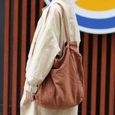 托特包 手提包  素色 森林系 大方包 帆布包 布包 環保購物袋-手提包/單肩包