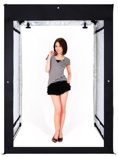 攝影棚led200CM櫃式人像拍攝燈大型攝影棚套裝小型拍照證件柔光箱補光燈【快速出貨】JY