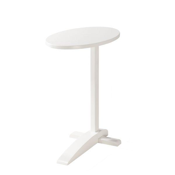 日本直人木業傢俱-APPLE生活多功能邊桌(白)