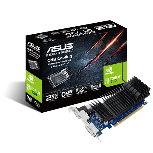 ASUS 華碩 GT730-SL-2GD5-BRK 顯示卡 / 含短檔板