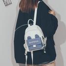 韓版雙肩包小包女2021年新款時尚百搭日系原宿可愛迷你小書包背包 「中秋節特惠」