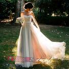 旅拍寫真輕婚紗新娘婚紗禮服...