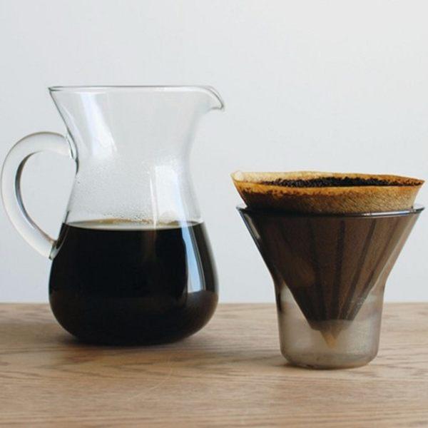 KINTO SCS 手沖咖啡壺組-濾紙型300ml 下午茶 咖啡時光 咖啡壺 玻璃壺 日式精品 好生活