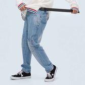 翻轉牛仔褲 STAGE REVERSED JEANS 黑色/淺藍色 兩色