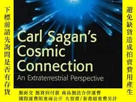 二手書博民逛書店Carl罕見Sagan s Cosmic Connection: