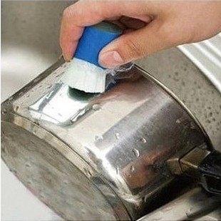 只要19元 限購2入 去汙魔力棒 鐵銅銹清潔劑強力清除鍋底燒焦油漬工具 廚房刷 強力去汙 除鏽神器