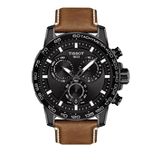 天梭TISSOT SUPERSPORT CHRONO 全新帥氣上市韻馳系列運動計時腕錶 T125.617.36.051.01黑x咖
