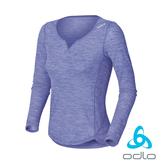 ODLO 女羊毛圓領長袖 排汗衣『淡紫』110071 長袖排汗衣│衛生衣│吸濕快乾