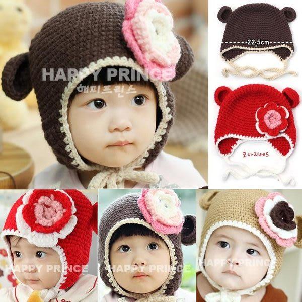 *甜蜜蜜親子童裝*可愛《花朵耳朵帽》手工護耳帽~保暖帽