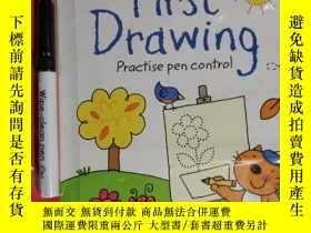 二手書博民逛書店WIPE-CLEAN罕見FIRST DRAWING 兒童讀物 英文版Y42402