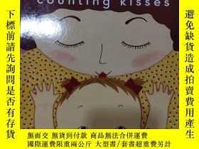 二手書博民逛書店Counting罕見Kisses 數數親吻 大開本紙板翻翻書 英