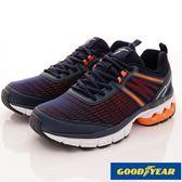 GOODYEAR-登月智能跑鞋-MSE3363藍橘(男款)