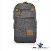 【COLORSMITH】BG・方型單肩後背包-灰色・BG1327-GY