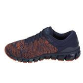 Asics Gel-Quantum 360 Knit 2 [T840N-403] 男鞋 運動慢跑 休閒 橘藍 亞瑟士