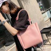 托特包 女包包夏天韓版潮百搭手提包大容量托特包休閒單肩斜背包 寶貝計畫