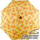 EuroSCHIRM 輕巧迷你晴雨傘(方格亮黃) 1028-CWS3 輕量 迷你 摺疊
