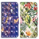 三星 Note9 Note8 S9 S9 Plus S8 Plus S8 3D2彩繪皮套 手機皮套 插卡 支架 彩繪 保護套 皮套