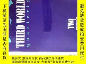二手書博民逛書店Third罕見World Quarterly (TWQ Journal) 8 2017 第三世界季刊Y1144