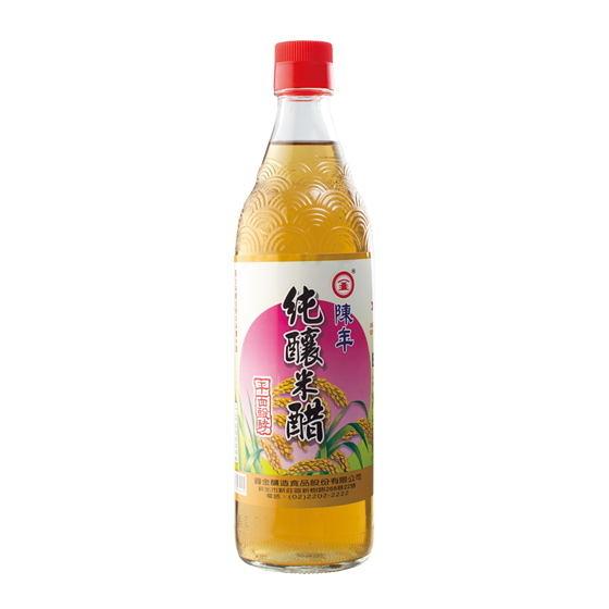 【圓金】陳年純釀米醋 600ml/瓶