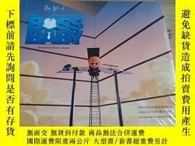 二手書博民逛書店THE罕見ART OF DREAMWORKS THE BOSS BABY 夢工廠的藝術老板寶貝Y212829